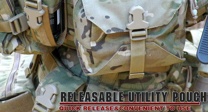 REREASABLE UTILITY POUCH