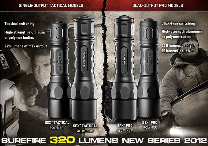 G2X-C TACTICAL LED / SUREFIRE