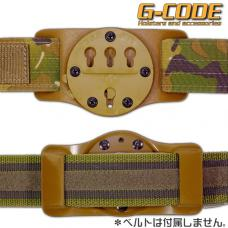GCA37 RTI KYDEX BELT SLIDE (PANEL ONLY) / G-CODE