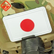 JAPAN FLAG PATCH / HAZARD4
