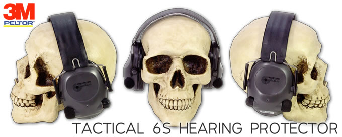 PELTOR TACTICAL 6S HEARING PROTECTOR