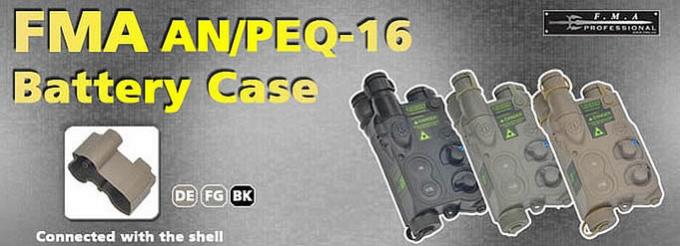 AN/PEQ16 TYPE BATTERY CASE / FMA