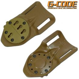 GCA30 DUTY MOUNT KYDEX RTI  (PANEL ONLY) / G-CODE