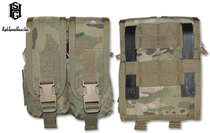 UNIVERSAL MAG POUCH DOUBLE / HSGI