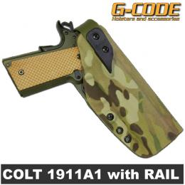 XST RTI KYDEX HOLSTER 1911 with RAIL / G-CODE
