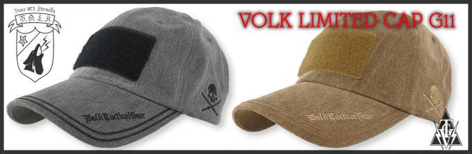 VOLK TACTICAL GEAR CAP G11/2017
