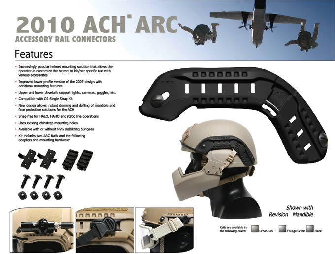 ACH ARC MICH RAIL SYSTEM / OPS-CORE