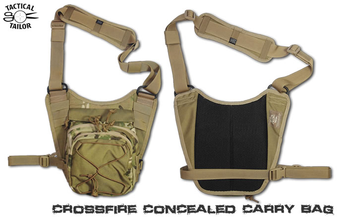 TAC-T CROSSFIRE CONCEALED CARRY BAG
