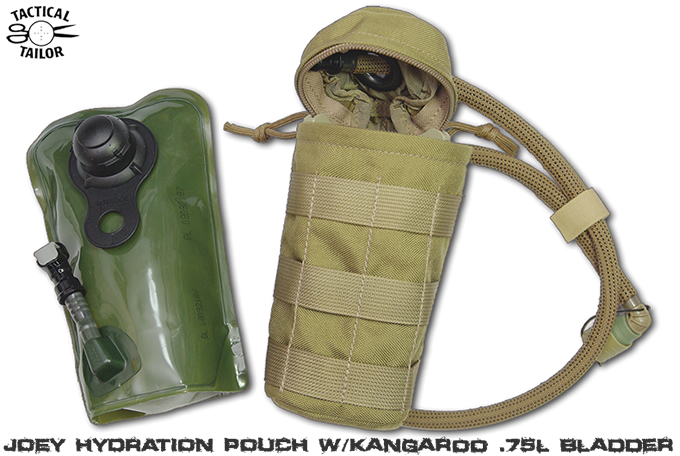 JOEY HYDRATION POUCH W/KANGAROO .75l / TAC-T