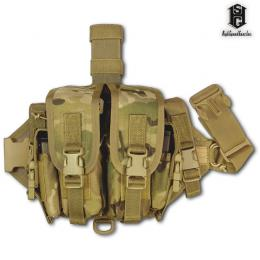 DROP LEG DOUBLE MAGAZINE CARRIER / HSGI