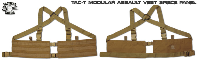 MAV 2P/ MODULAR ASSAULT VEST 2P PANEL / TAC-T