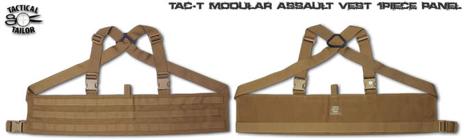MAV1P/ MODULAR ASSAULT VEST 1P PANEL / TAC-T