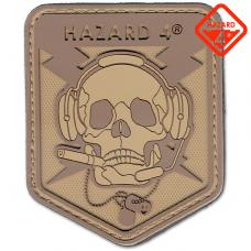 CUSTOM SPECIAL OPERATIONS SKULL PATCH / HAZARD4