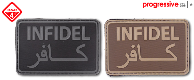 INFIDEL PATCH / HAZARD4