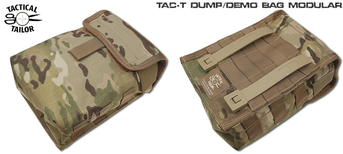 DUMP/DEMO BAG MODULAR / TAC-T
