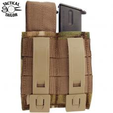 DOUBLE PISTOL MAG POUCH / TAC-T