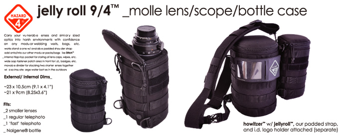 JELLY ROLL 9/4 MOLLE LENZ POUCH / HAZARD4