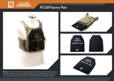 PTS SAPI DUMMY PLATES / 2pc SET