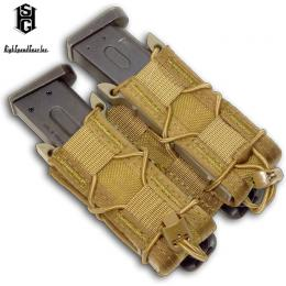 PISTOL TACO DOUBLE UNIVERSAL MAG POUCH / HSGI