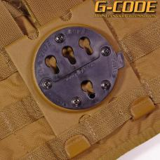GCA24 RTI 3 Row MOLLE CLAW  (PANEL ONLY) / G-CODE