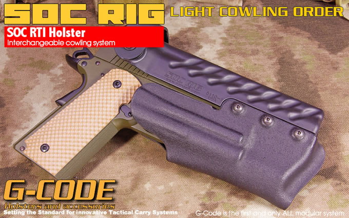 SOC LIGHT COWLING (COWL ONLY) / G-CODE