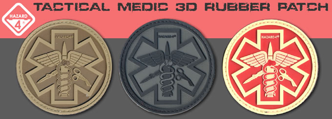 PARAMEDIC PATCH / HAZARD4